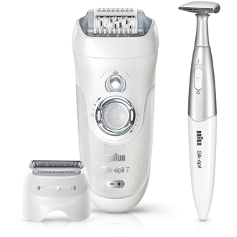braun 7 561 silk epil 7 rechargeable epilator lady shaver. Black Bedroom Furniture Sets. Home Design Ideas