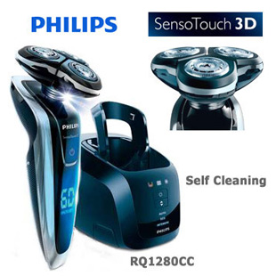 Philips - Norelco RQ1280CC SensoTouch 3D with Jet Clean system